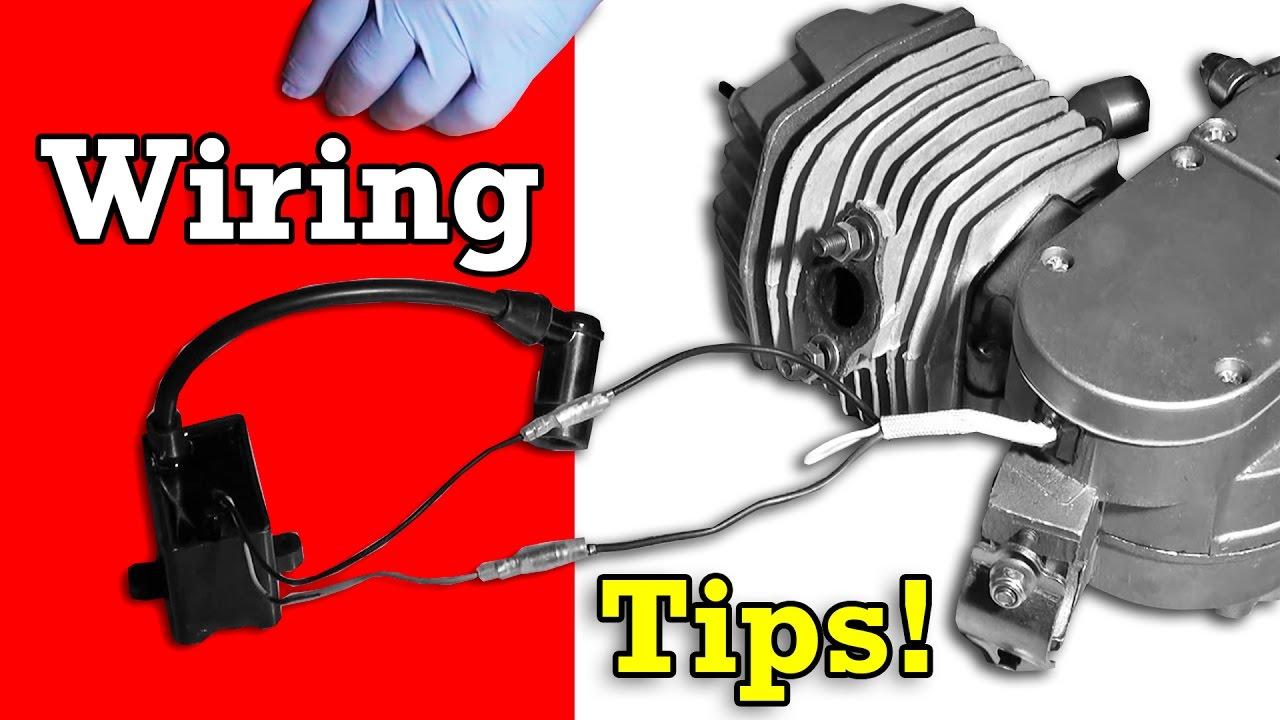 Bicycle Engine Kit Wiring Tips Troubleshooting - Youtube - Motorized Bicycle Wiring Diagram