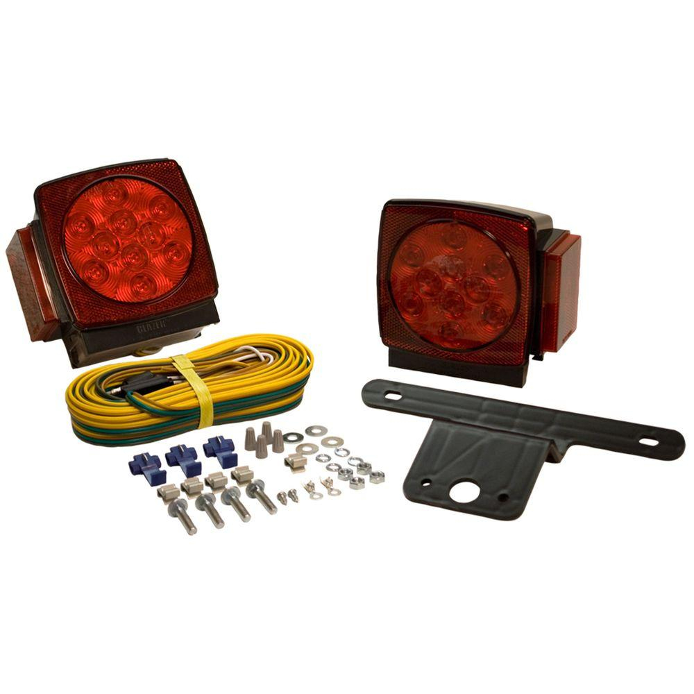 Blazer Led Submersible Trailer Lamp Kit For Under 80 In - Blazer Trailer Lights Wiring Diagram