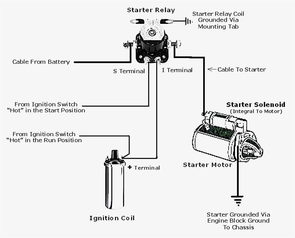Boat Starter Solenoid Wiring Diagram | Manual E-Books - Solenoid Wiring Diagram
