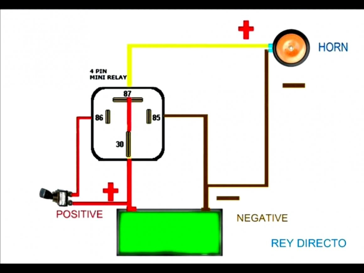 Bosch 5 Pin Relay Spotlight Wiring Diagram