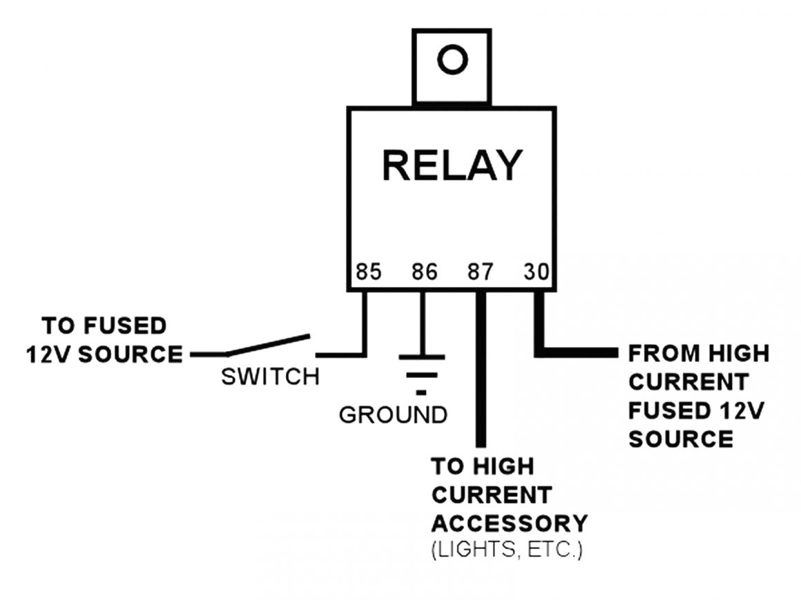 Bosch 4 Prong Relay Wiring Diagram | Manual E-Books - Bosch 4 Pin Relay Wiring Diagram