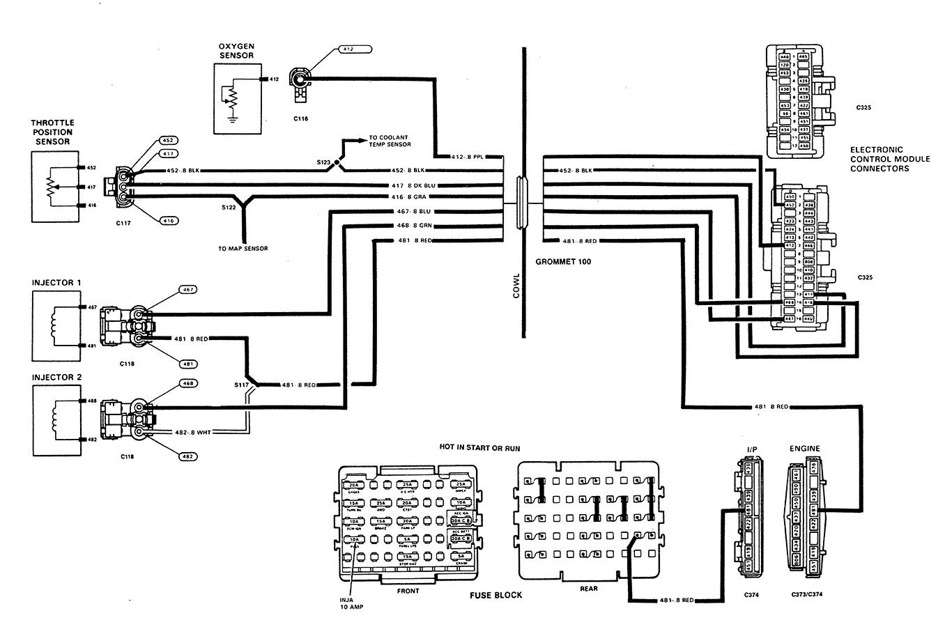 Bosch Oxygen Sensor Wire Diagram | Wiring Library - 4 Wire O2 Sensor Wiring Diagram