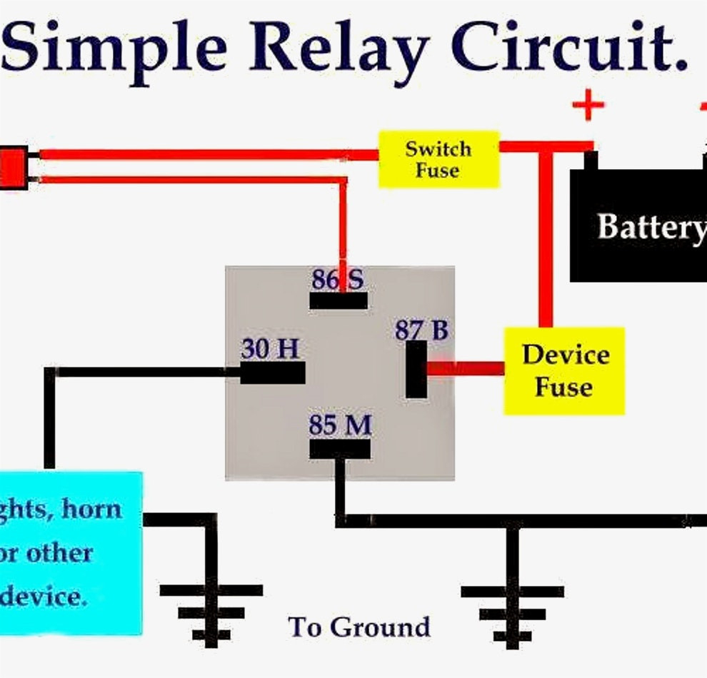 Bosch Relay Wiring Diagram For Horn Best Of 10 5 Pin Diagrams 19 0 - Relay Wiring Diagram 5 Pin