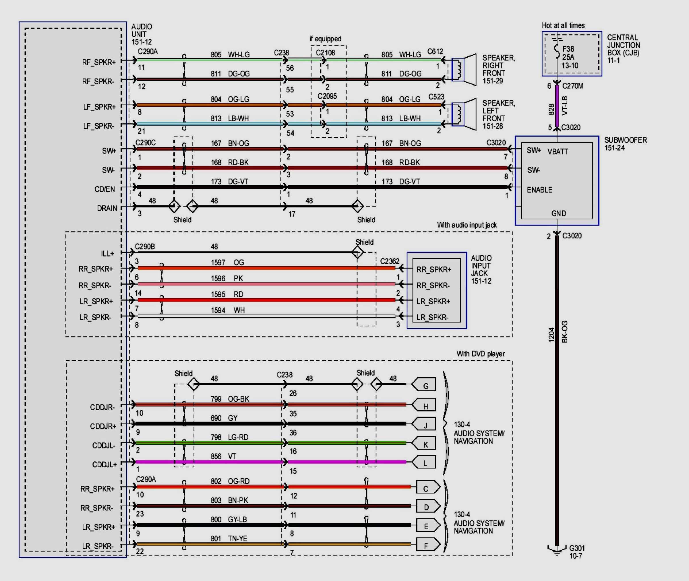 Bose Acoustimass 10 Wiring Diagram - Wiring Diagrams - Bose Amp Wiring Diagram