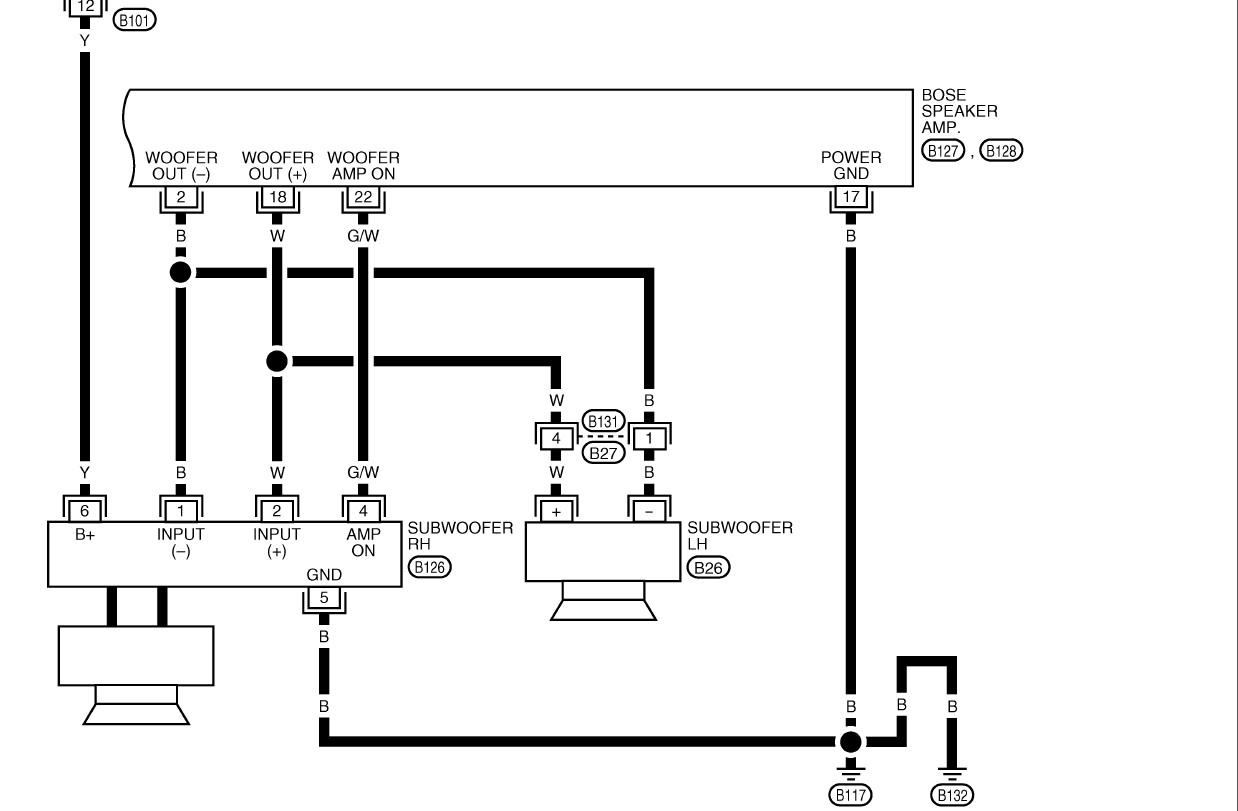Bose Systems For Home Wiring Diagrams - Free Wiring Diagram For You • - Bose Amp Wiring Diagram