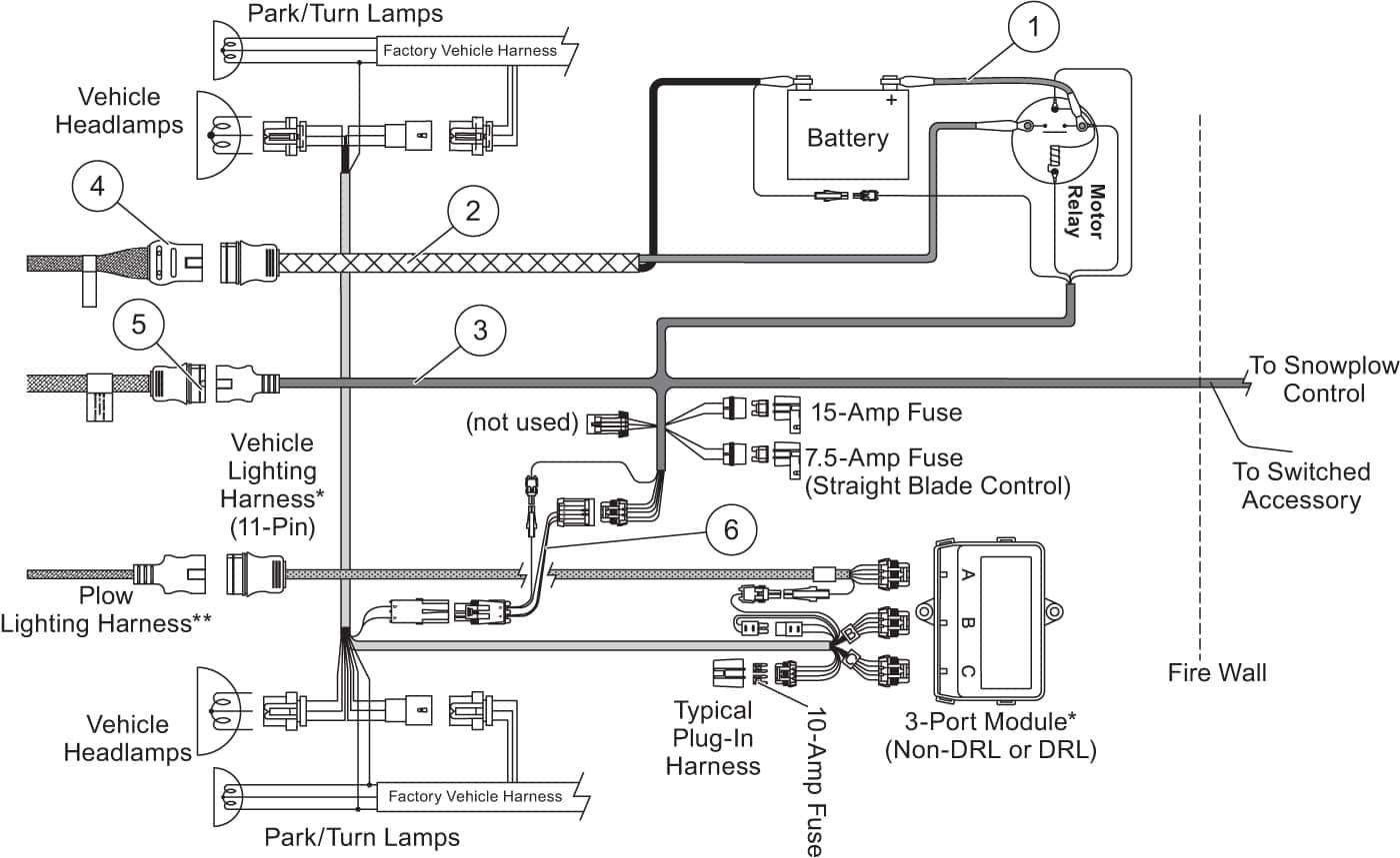 Boss Plow Wiring Diagram Reverse Light Harness | Wiring Diagram - Boss V Plow Wiring Diagram