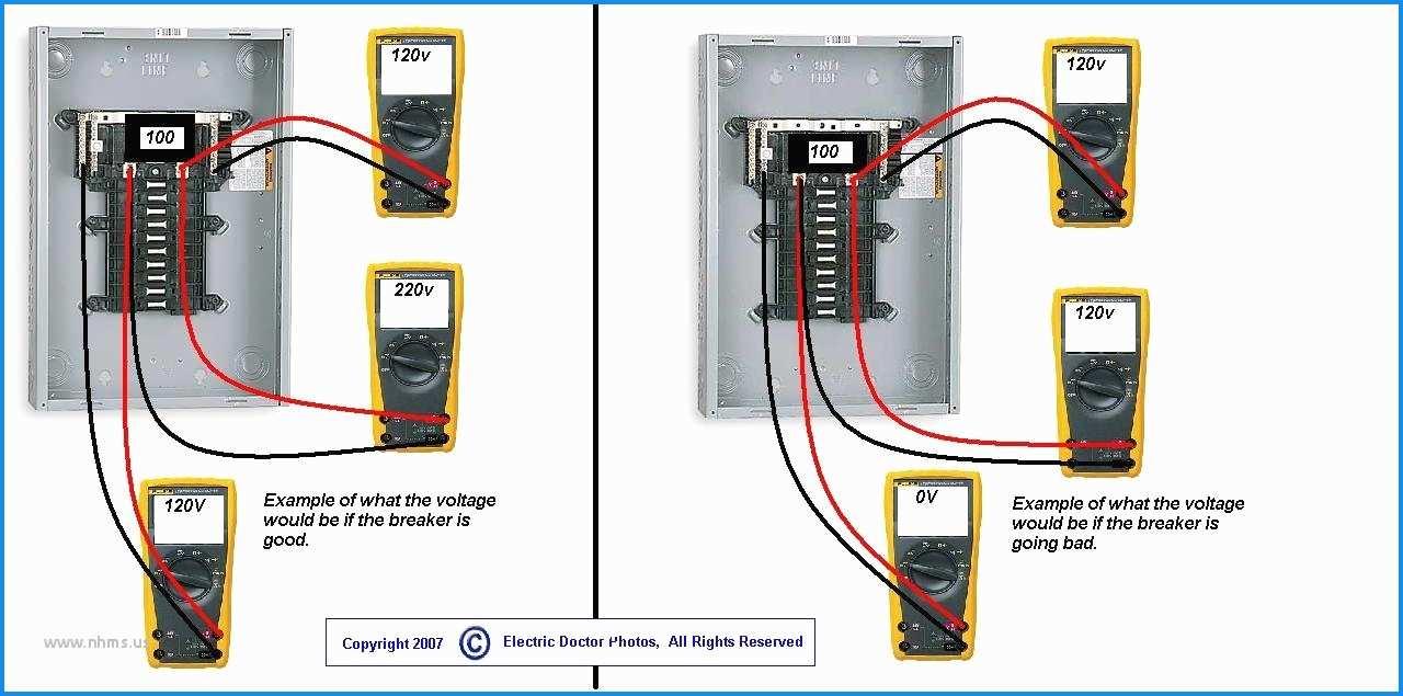 Breaker Box Wiring Diagram 220 - Wiring Diagram Online - 220 Sub Panel Wiring Diagram