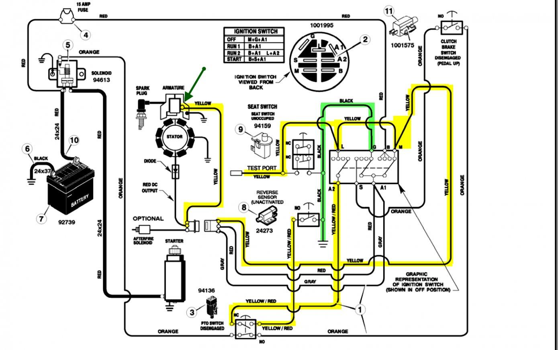 Briggs Amp Stratton Kill Switch Wiring Diagram - Detailed Wiring Diagram - Briggs And Stratton Wiring Diagram 16 Hp