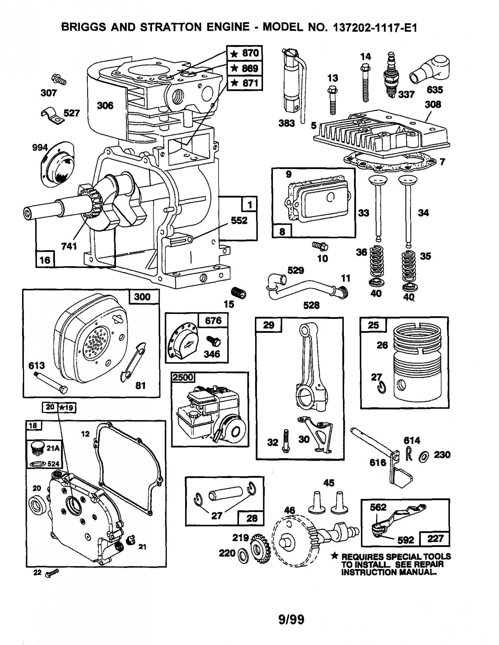 Briggs And Stratton Engine Troubleshooting Diagram – Wiring Diagram - Briggs And Stratton V-Twin Wiring Diagram
