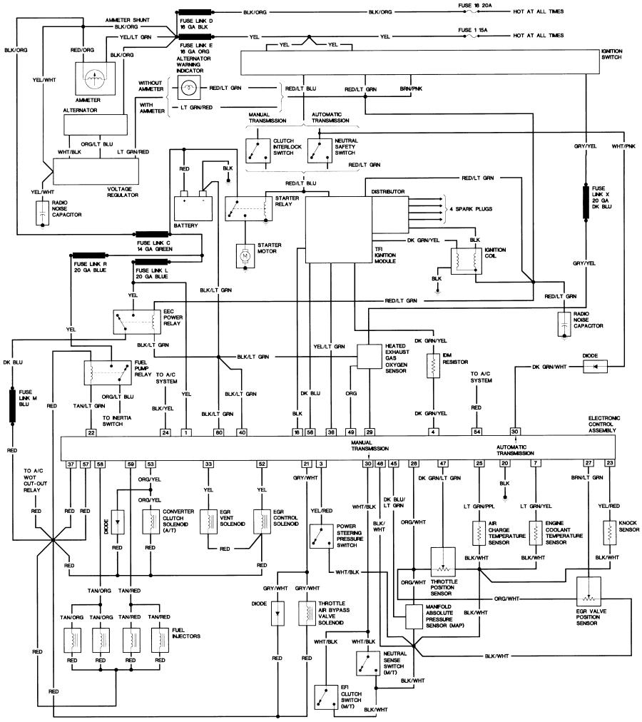 Bronco Ii Wiring Diagrams : Bronco Ii Corral - 1990 Ford Bronco Wiring Diagram