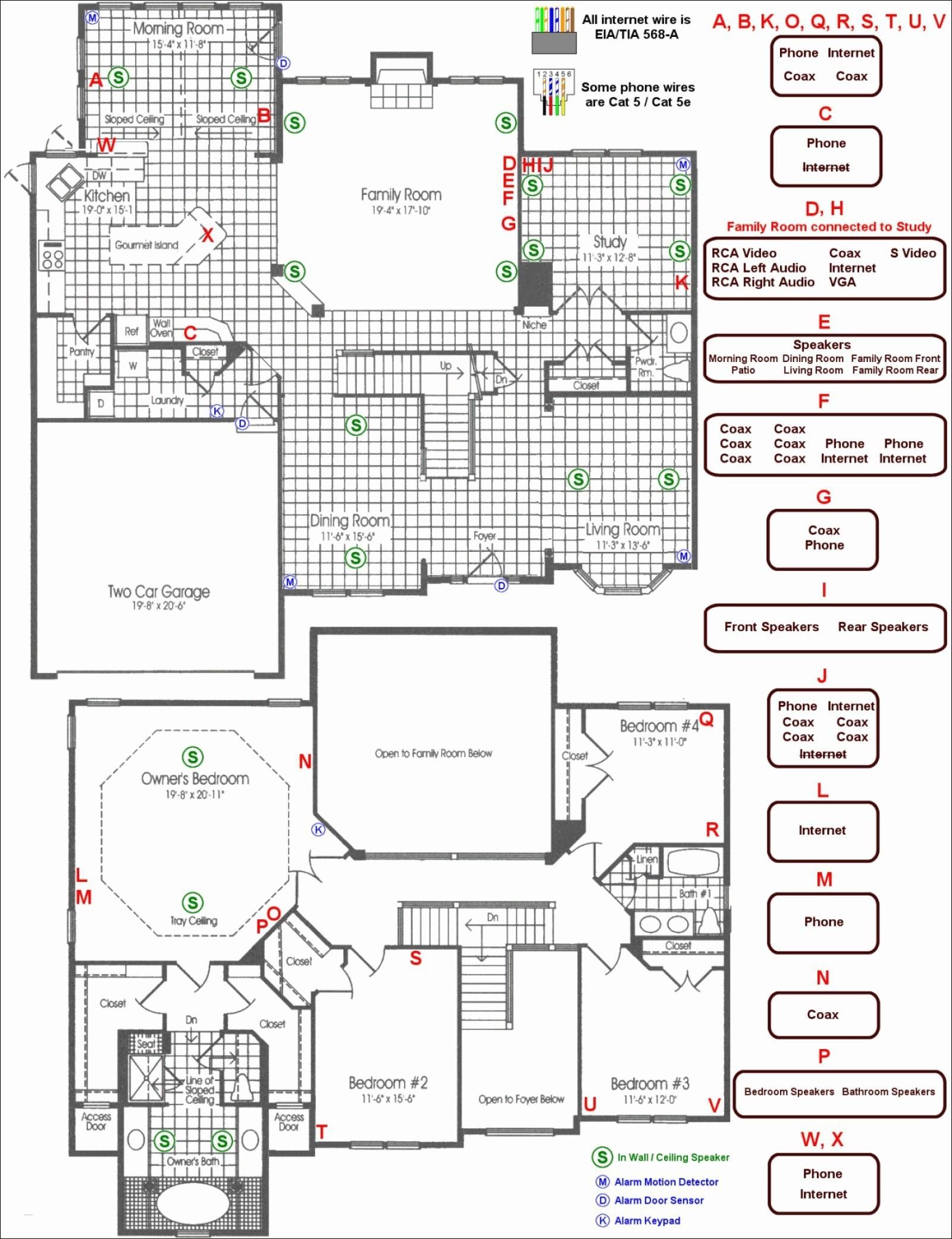 Building Wiring Diagram Symbols - Wiring Diagram Online - House Wiring Diagram Pdf