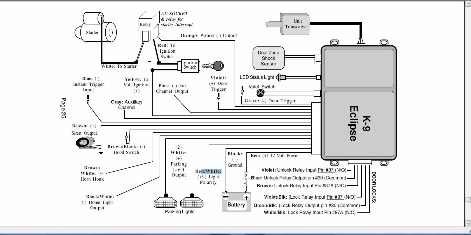 Bulldog Deluxe 500 Wiring Diagram | Wiring Diagram - Bulldog Wiring Diagram