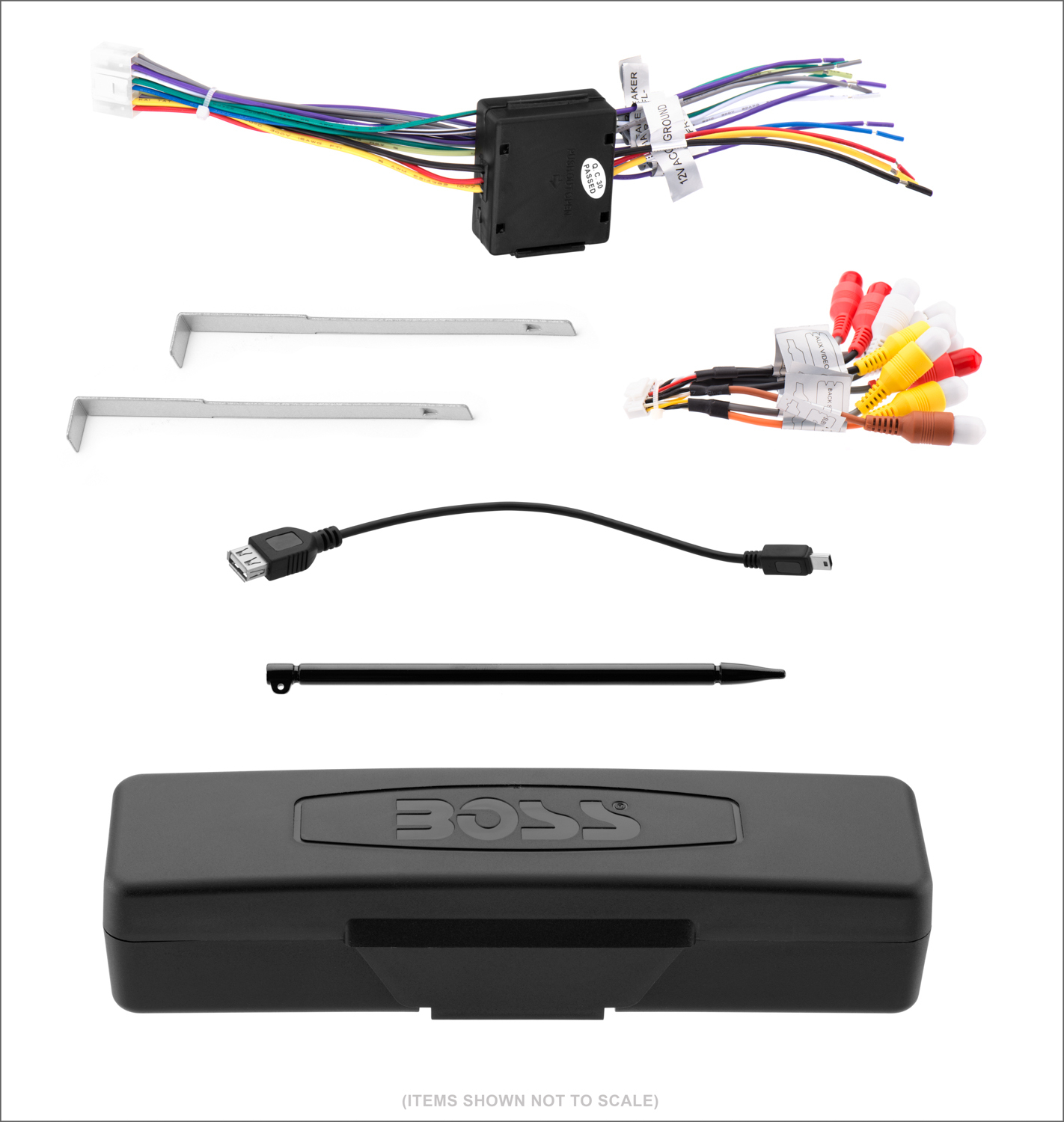Bv9967B - Boss Audio Systems - Boss Audio Wiring Diagram