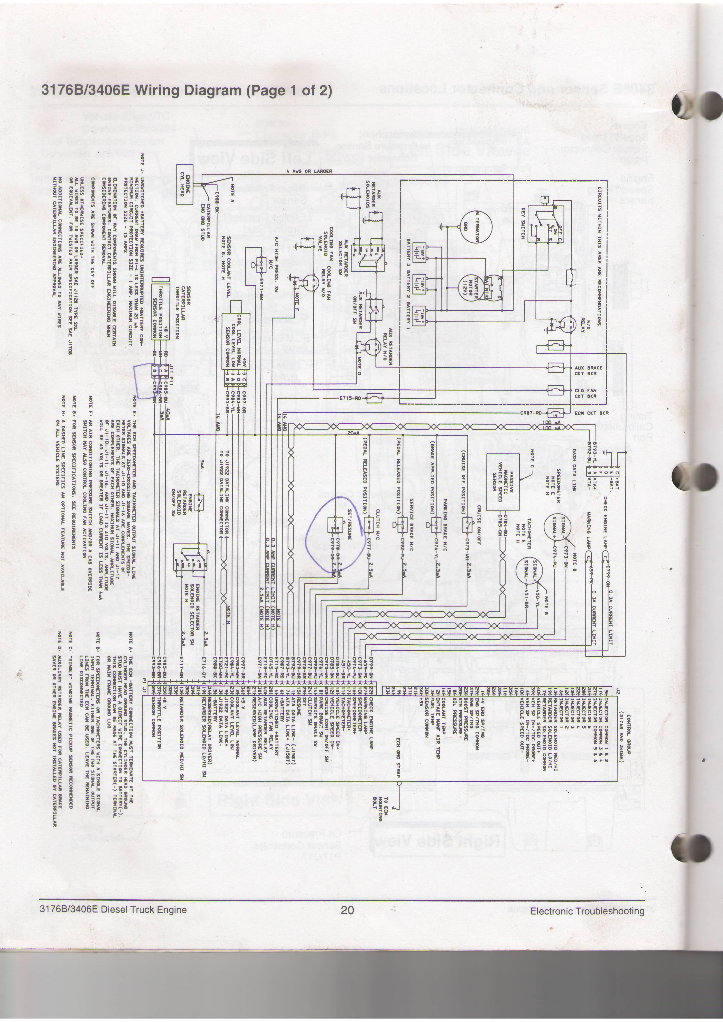 C12 Wiring Diagram | Wiring Library - Cat C15 Ecm Wiring Diagram