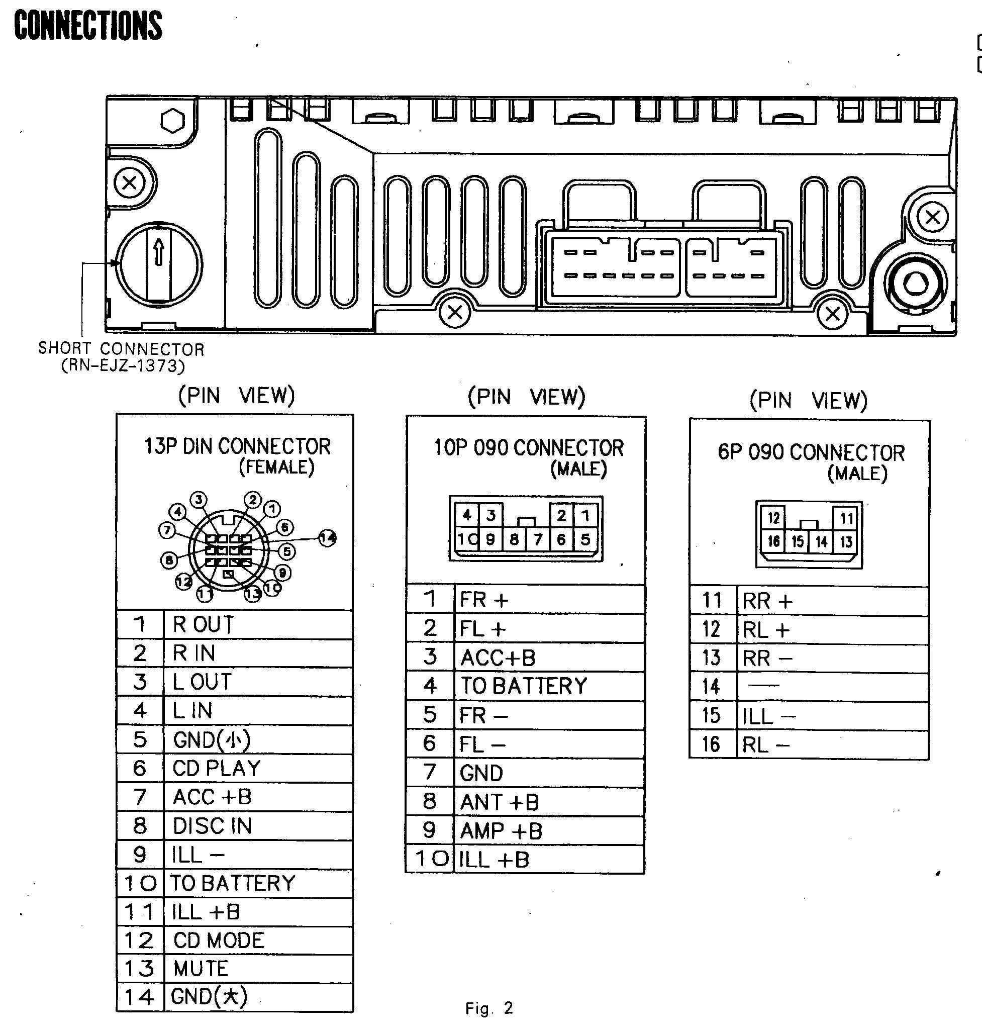 Car Deck Wiring Diagram | Wiring Library - Bose Car Amplifier Wiring Diagram