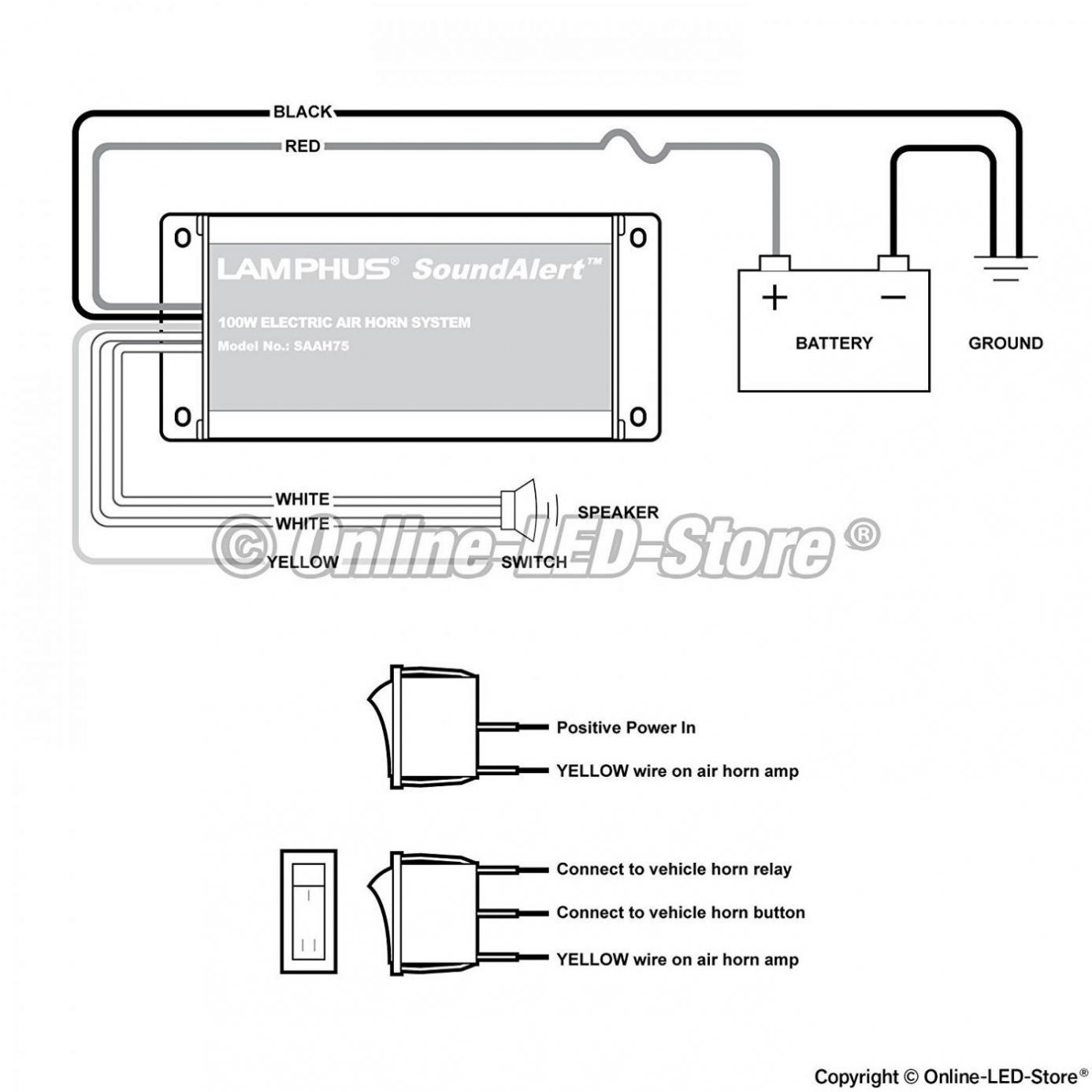 Car Horn Wire Diagram   Wiring Library - Car Horn Wiring Diagram