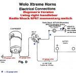 Car Horn Wiring Diagram | Manual E Books   Car Horn Wiring Diagram