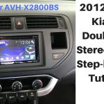 Car Stereo Wiring Harness For Kia Rio   Wiring Diagrams Hubs   Pioneer Avh X2800Bs Wiring Harness Diagram