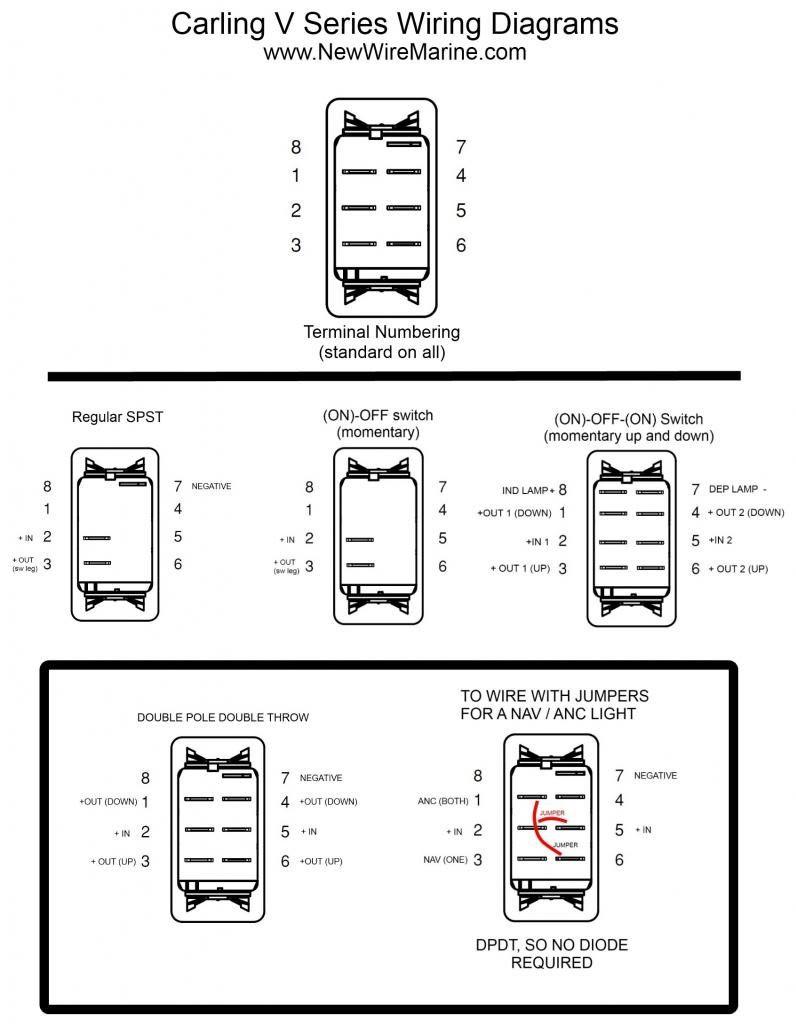 Carling Technologies Wiring Diagram - Simple Wiring Diagram - Carlingswitch Wiring Diagram