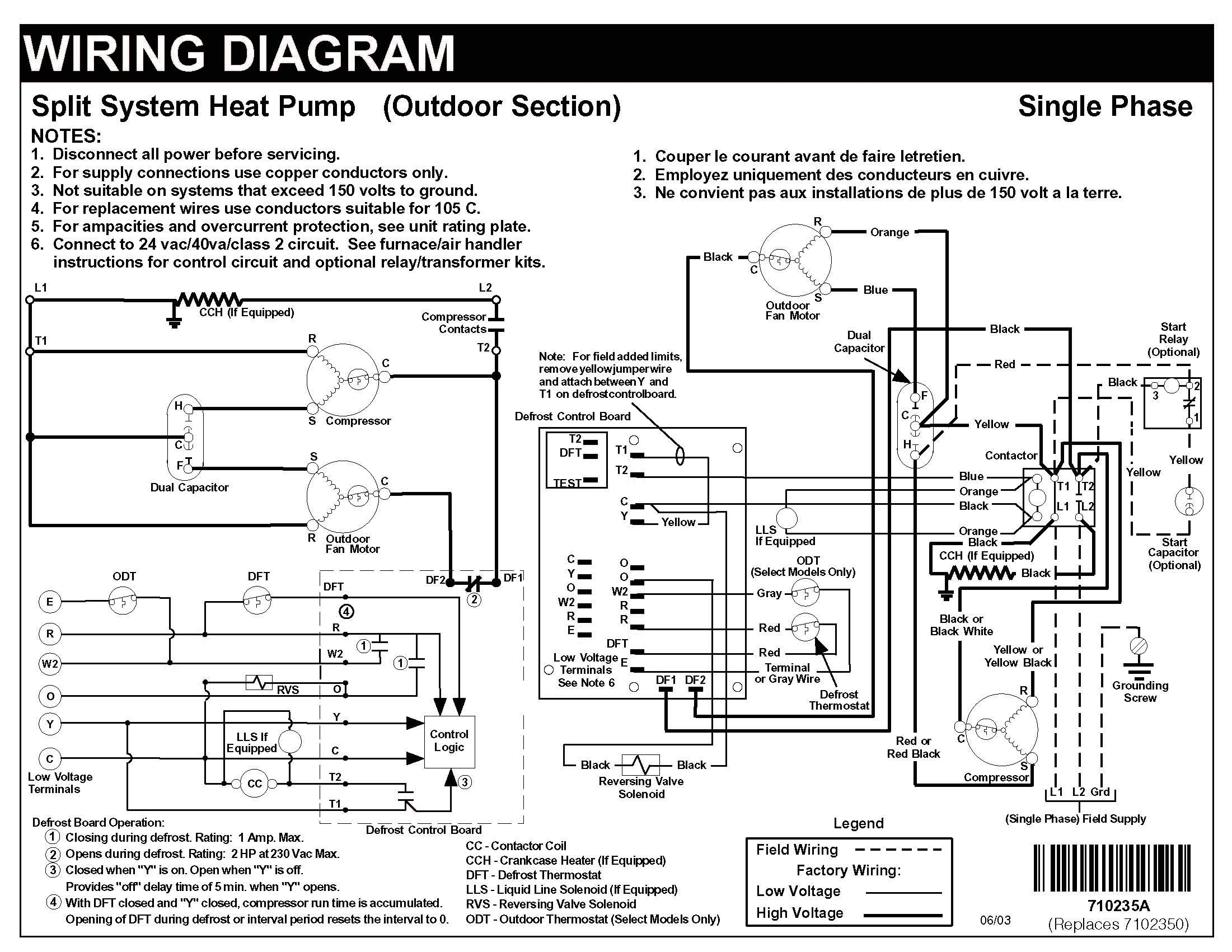 Carrier Heat Pump Wiring Schematic - Wiring Diagrams Hubs - Carrier Wiring Diagram