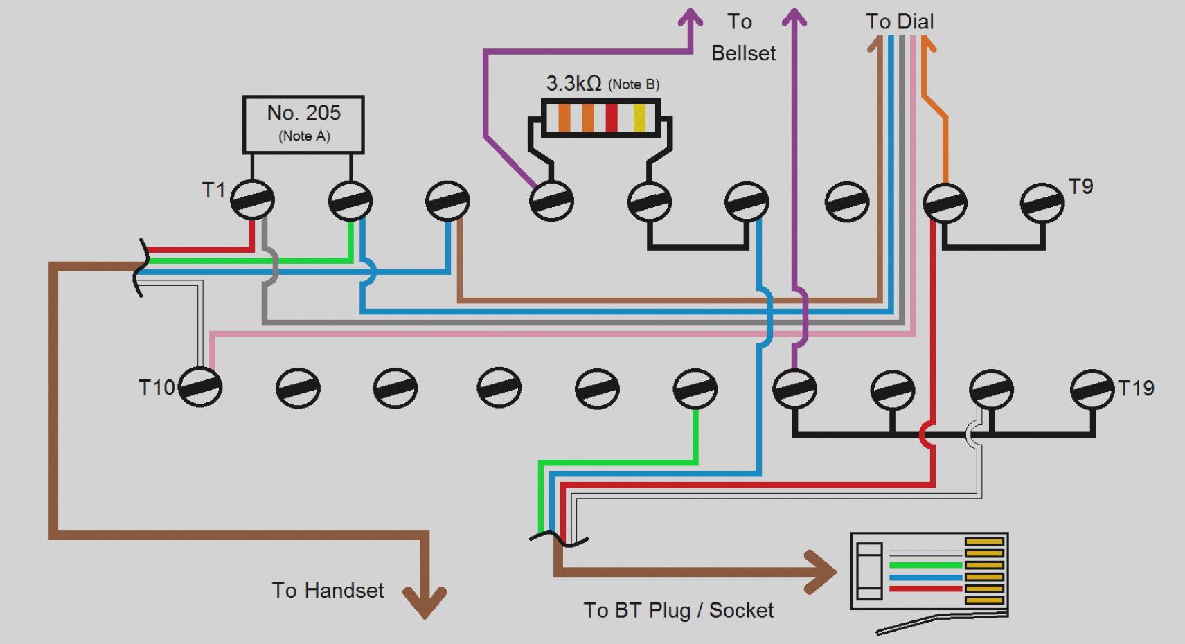 Telephone Wiring Diagram