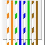 Cat 5E Wiring B   Wiring Diagrams Hubs   Cat5E Wiring Diagram B