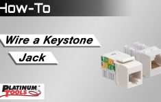 Cat6 Keystone Jack Wiring Diagram