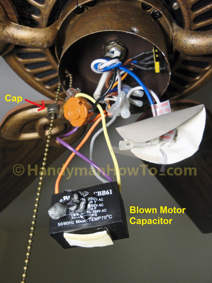 Cbb61 Fan Capacitor 3 Wire Diagram | Wiring Diagram - 5 Wire Ceiling Fan Capacitor Wiring Diagram