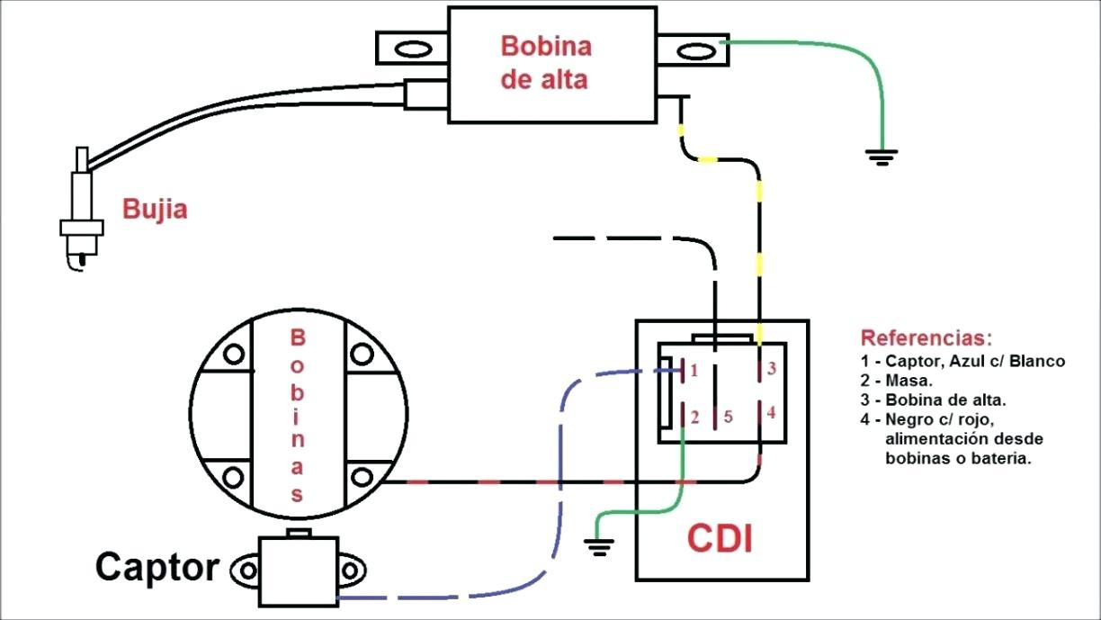 Cdi Motorcycle Wiring Diagram Unique Ignition Inspiration Lovely Of - Cdi Wiring Diagram
