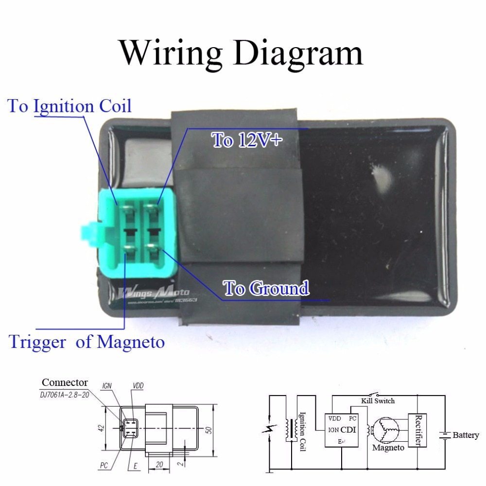 Cdi Wiring 5 Pin - Www.jibberjabber.co • - 5 Pin Cdi Wiring Diagram