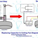 Ceiling Fan Wiring Diagram With Capacitor | Wiring Diagram   Ceiling Fan Capacitor Wiring Diagram