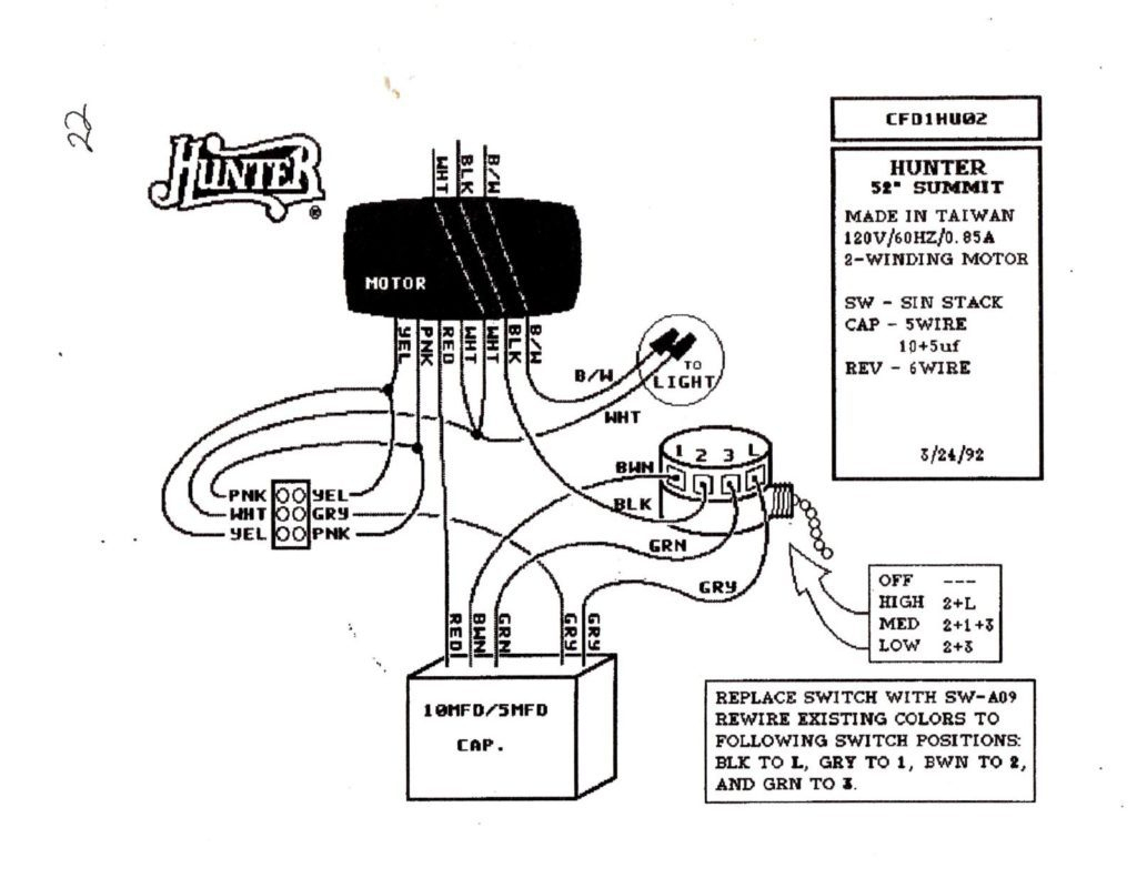 Ceiling Fan Wiring Harness Repair - Wiring Diagrams Hubs - Wiring Diagram For Ceiling Fan