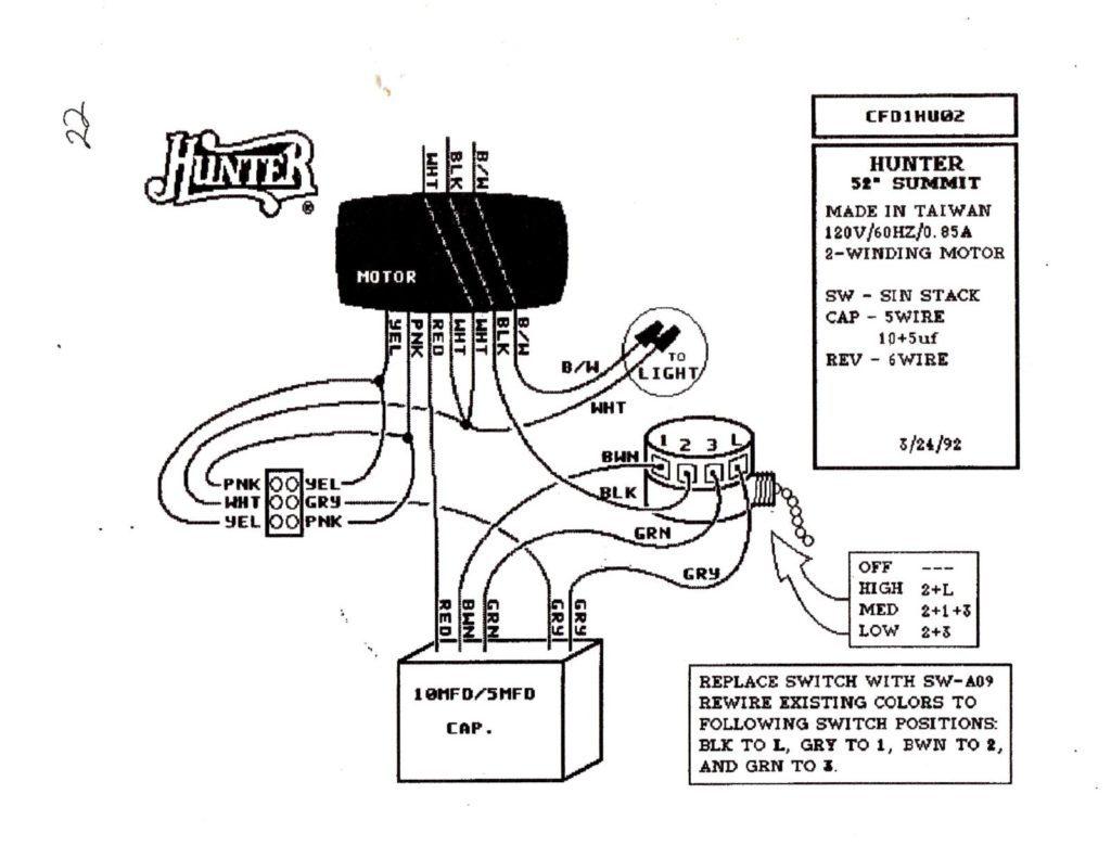 Ceiling Fan Wiring Harness Repair - Wiring Diagrams Hubs - Wiring Diagram For Ceiling Fan