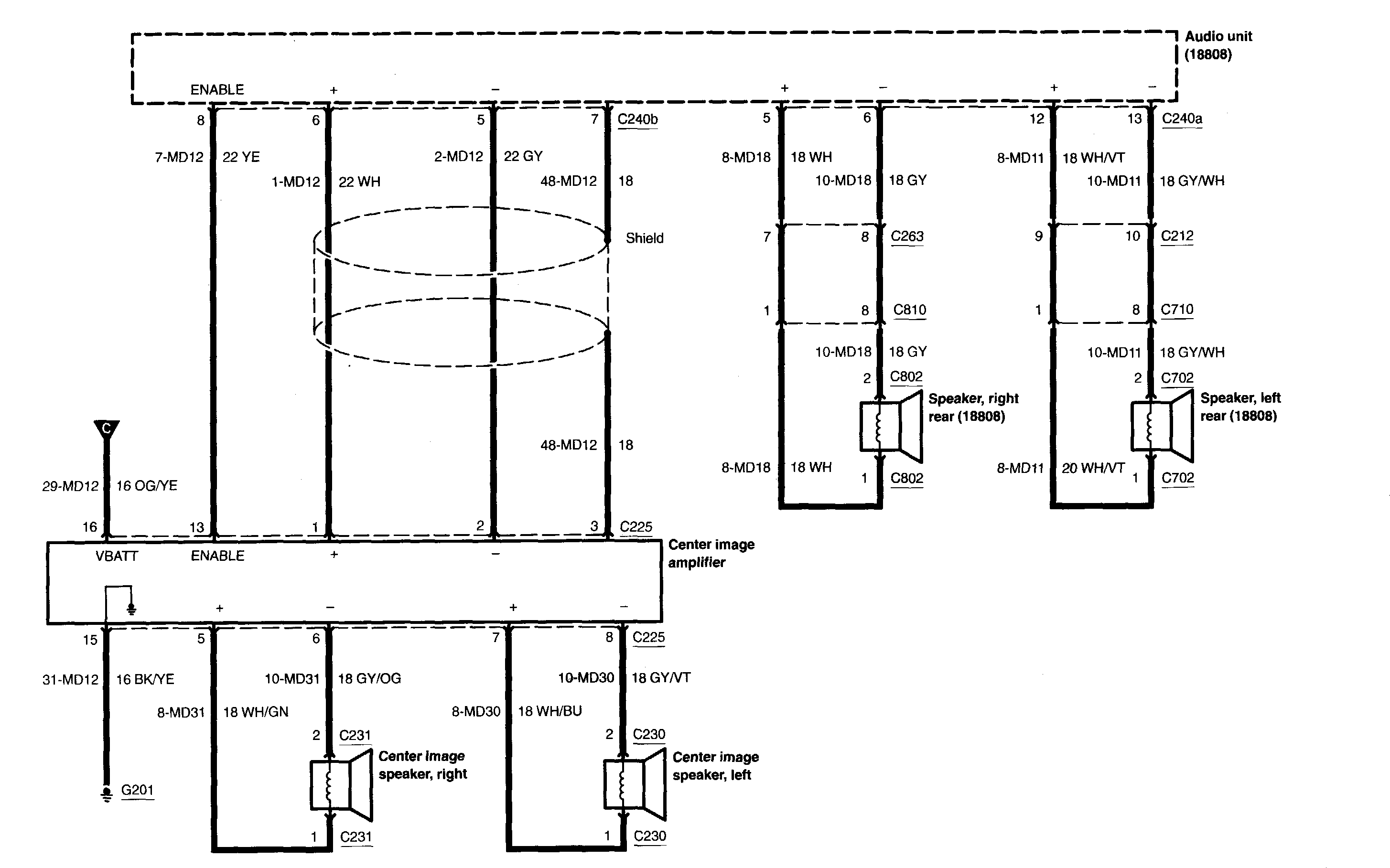 Center Channel Speaker Wiring Diagram | Wiring Library - Center Channel Speaker Wiring Diagram