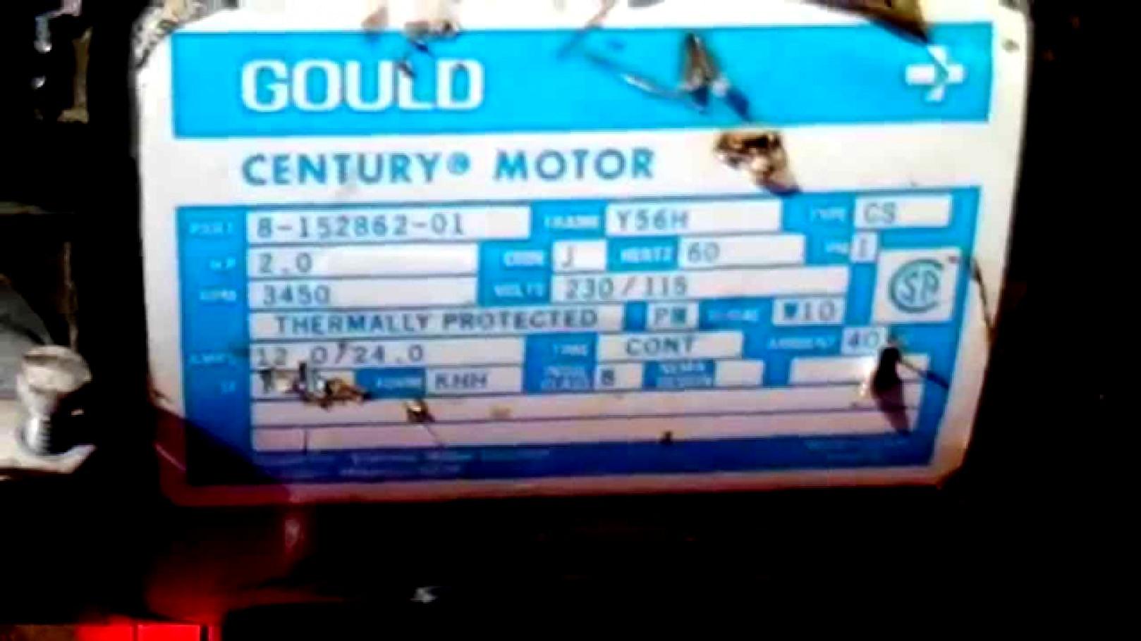 Century Motors Wiring Digram | Wiring Diagram - Gould Century Motor Wiring Diagram