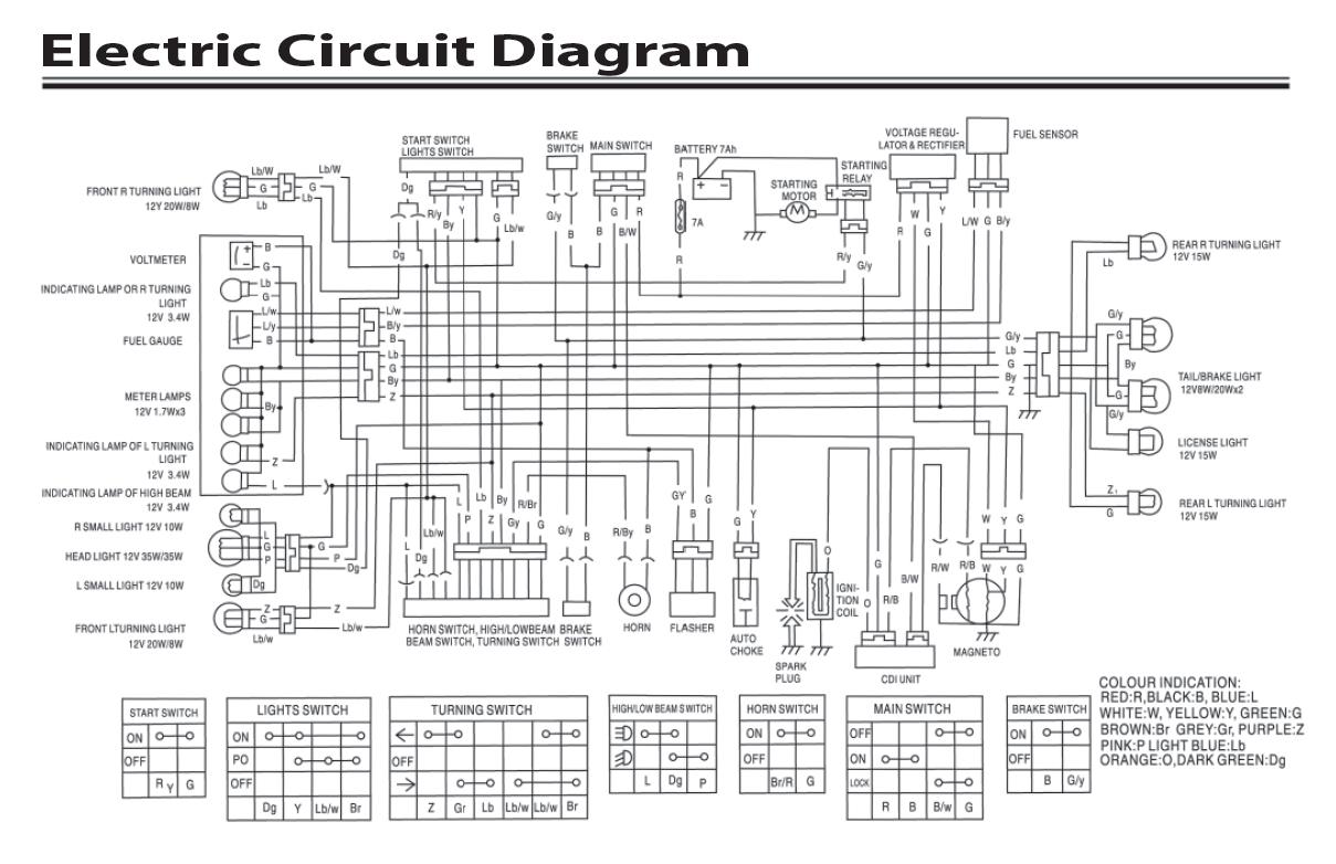 Cf Moto 500 Wiring Diagram | Manual E-Books - Gy6 Wiring Diagram