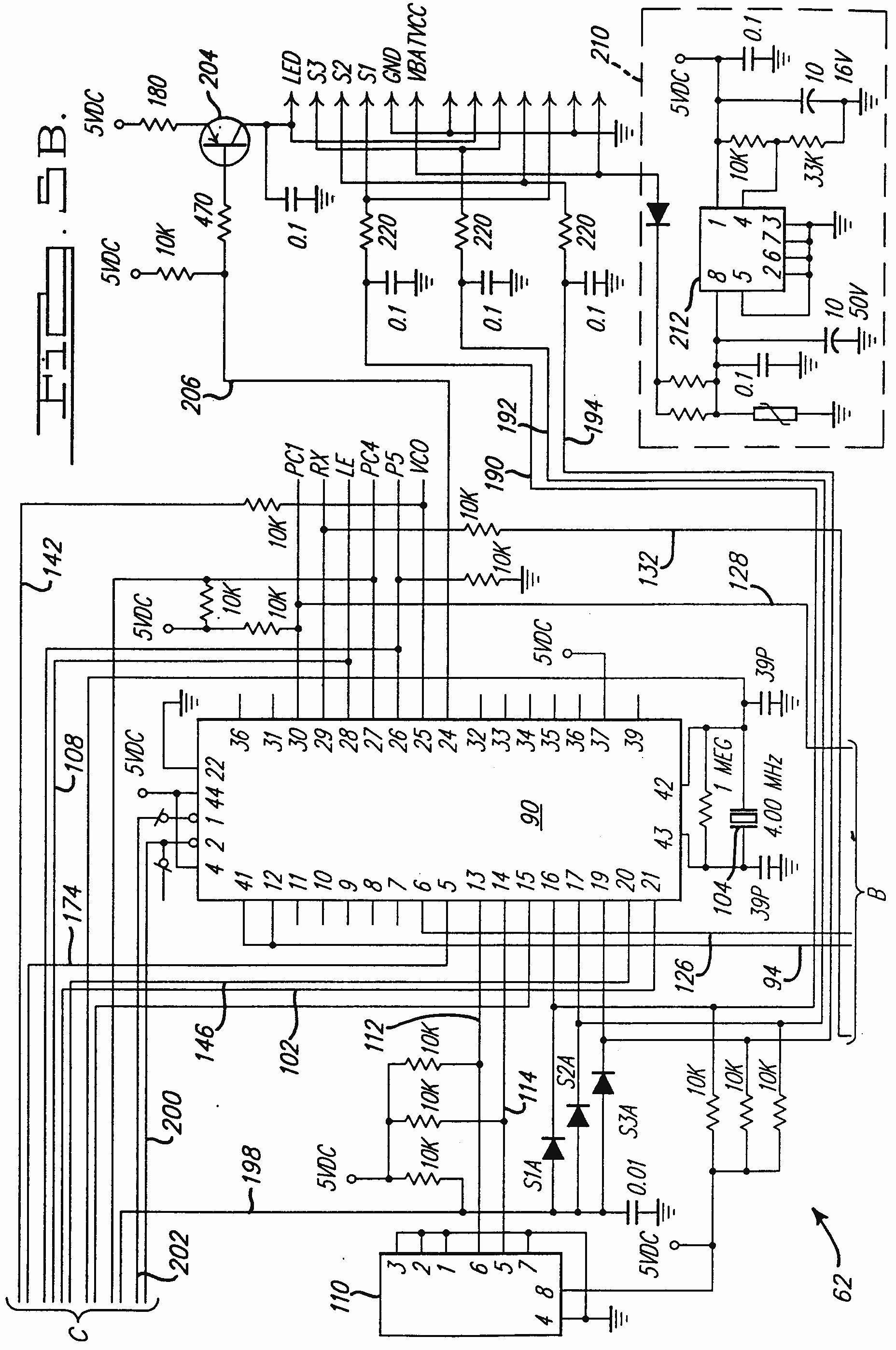 Chamberlain Garage Door Opener Schematic | Manual E-Books - Liftmaster Garage Door Opener Wiring Diagram