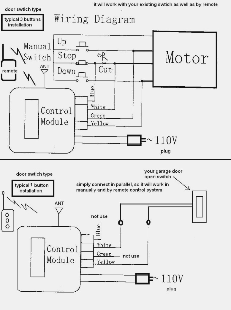 Chamberlain Garage Door Opener Wiring Diagram P200 | Wiring Diagram - Chamberlain Garage Door Opener Wiring Diagram