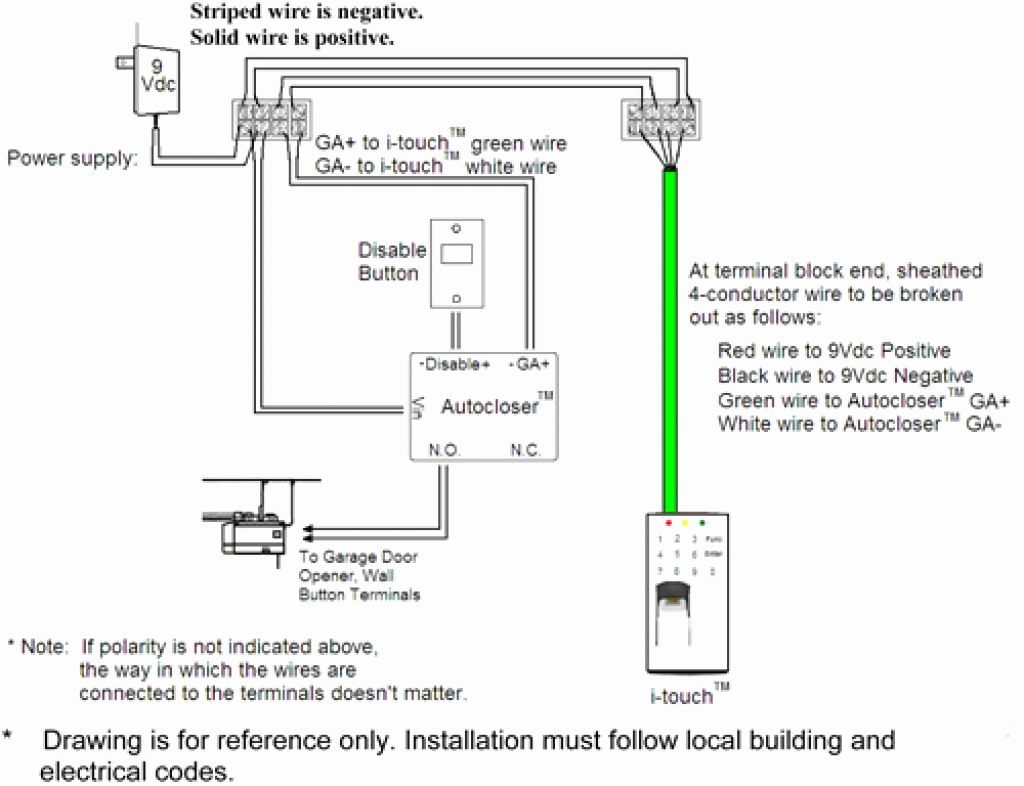 Genie Garage Door Opener Wiring Diagram