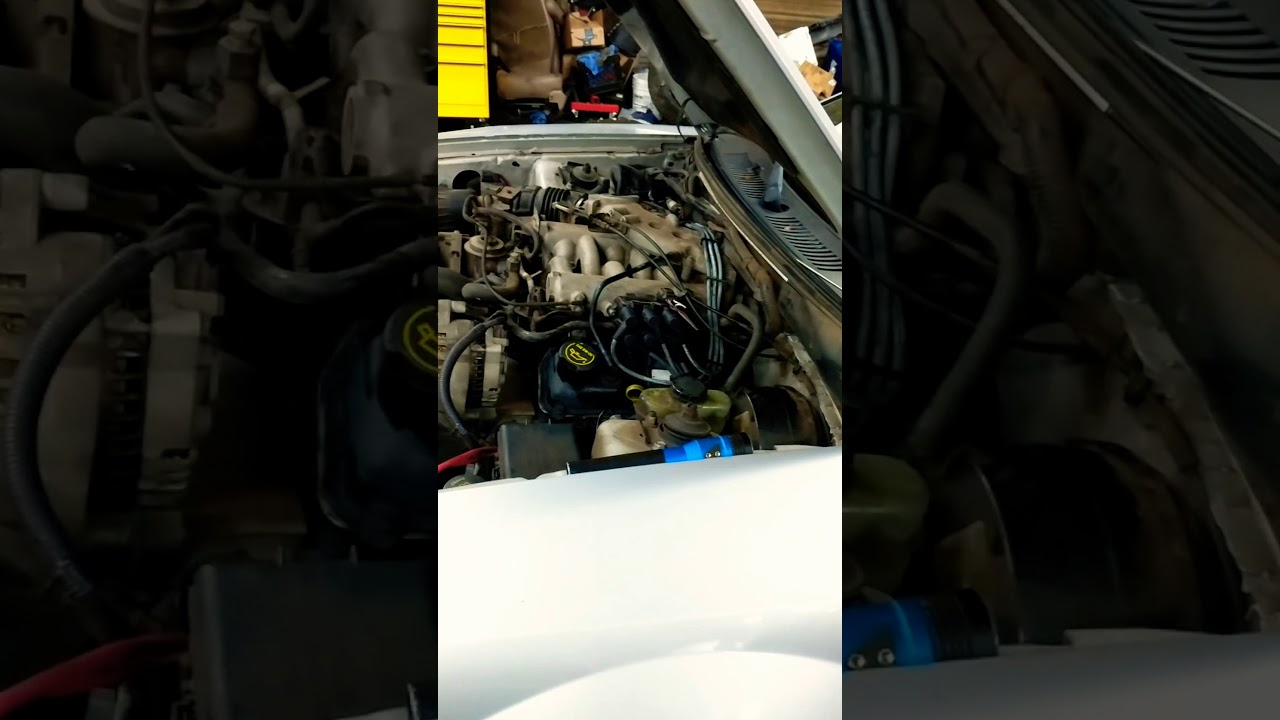 Changing Spark Plugs And Wires On 2002 Ford Mustang 3.8L - Youtube - 2001 Ford Mustang Spark Plug Wiring Diagram