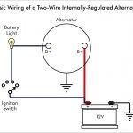 Chevy One Wire Alternator Wiring   Wiring Diagram Detailed   One Wire Alternator Wiring Diagram