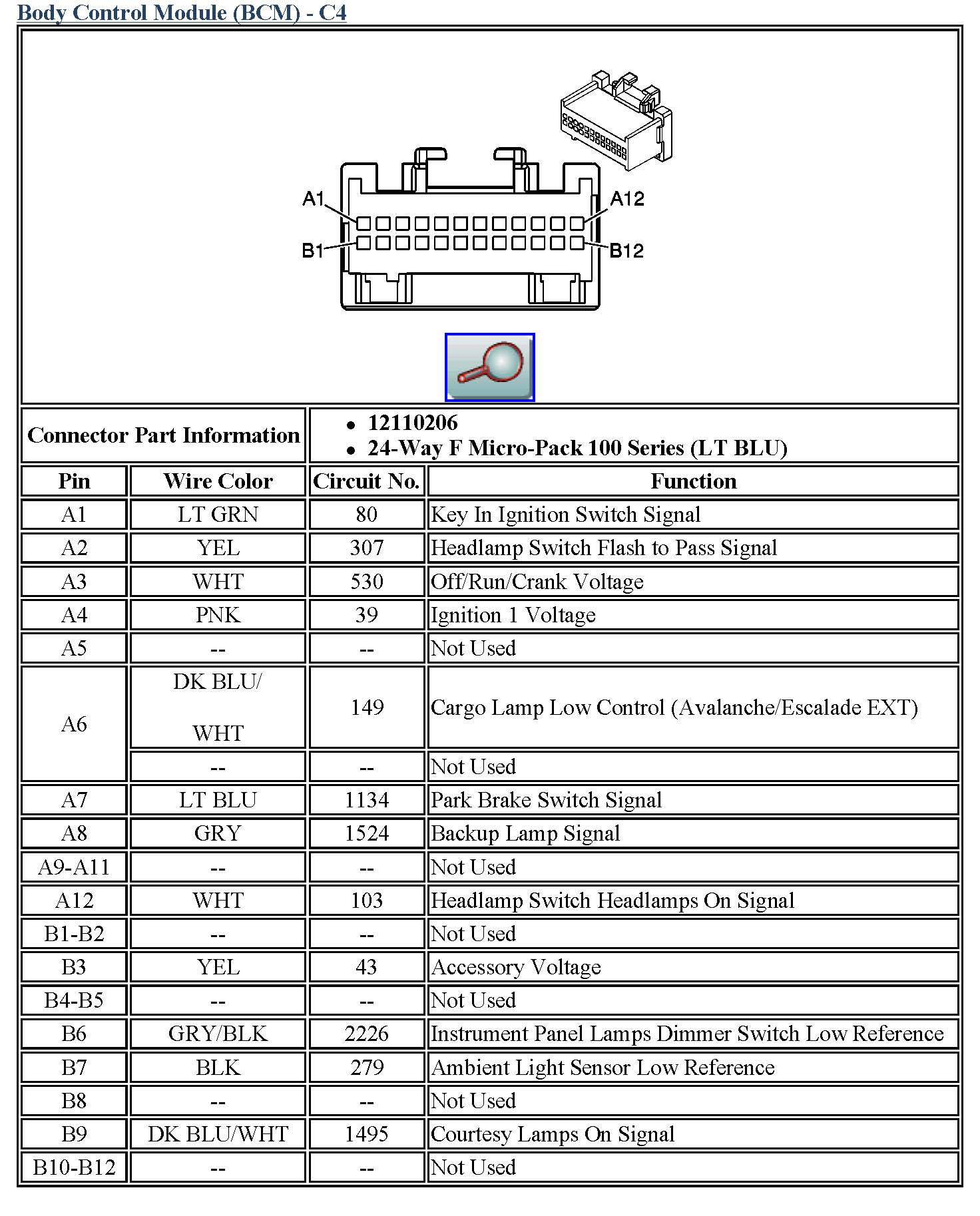 2004 Pontiac Grand Prix Radio Wiring Diagram