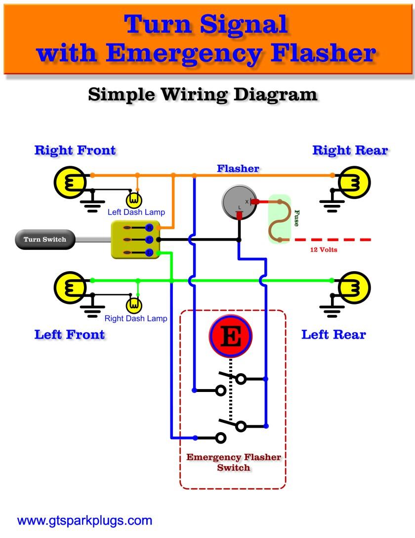 Chevy Turn Signal Relay Wiring Diagram - Wiring Diagram Data Oreo - 5 Pin Relay Wiring Diagram