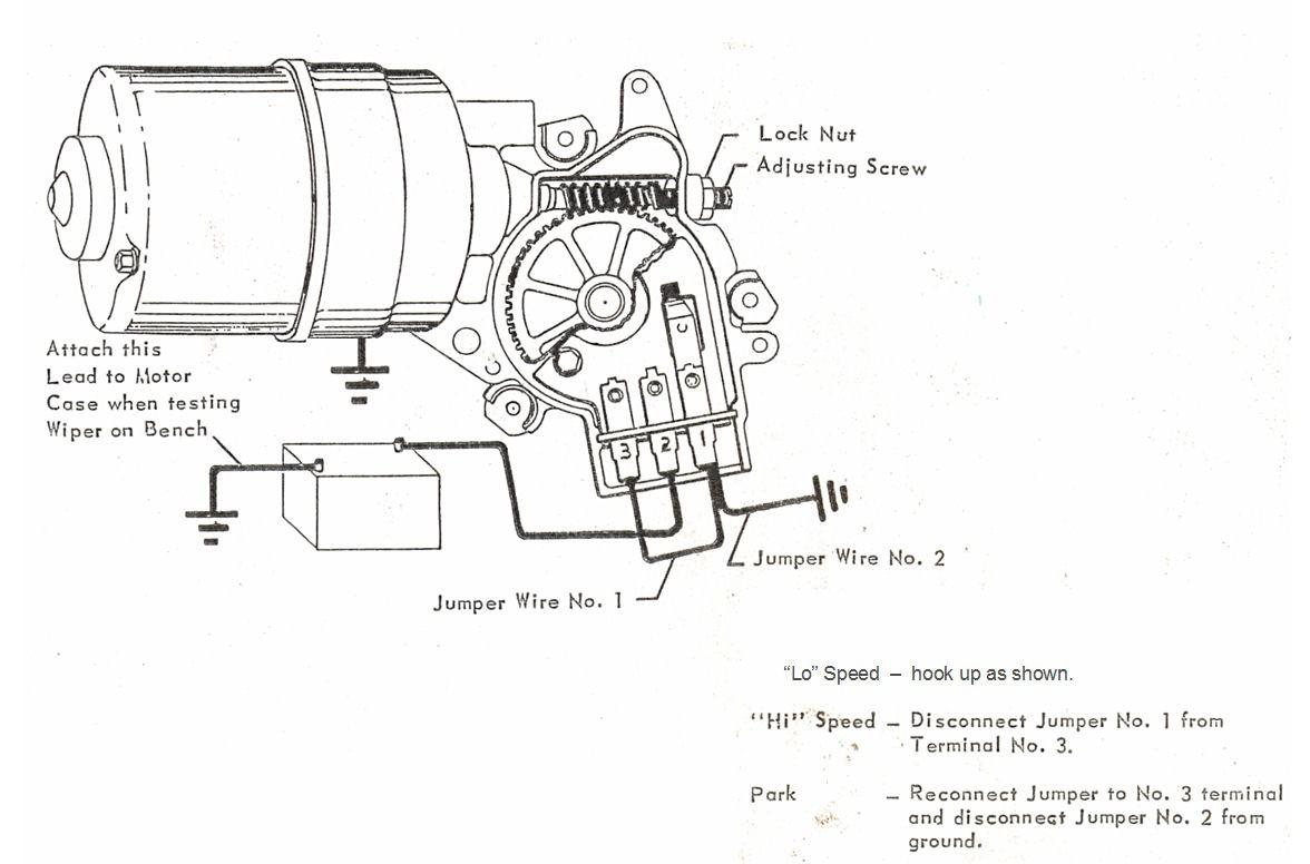 Wiper Motor Wiring Diagram Chevrolet
