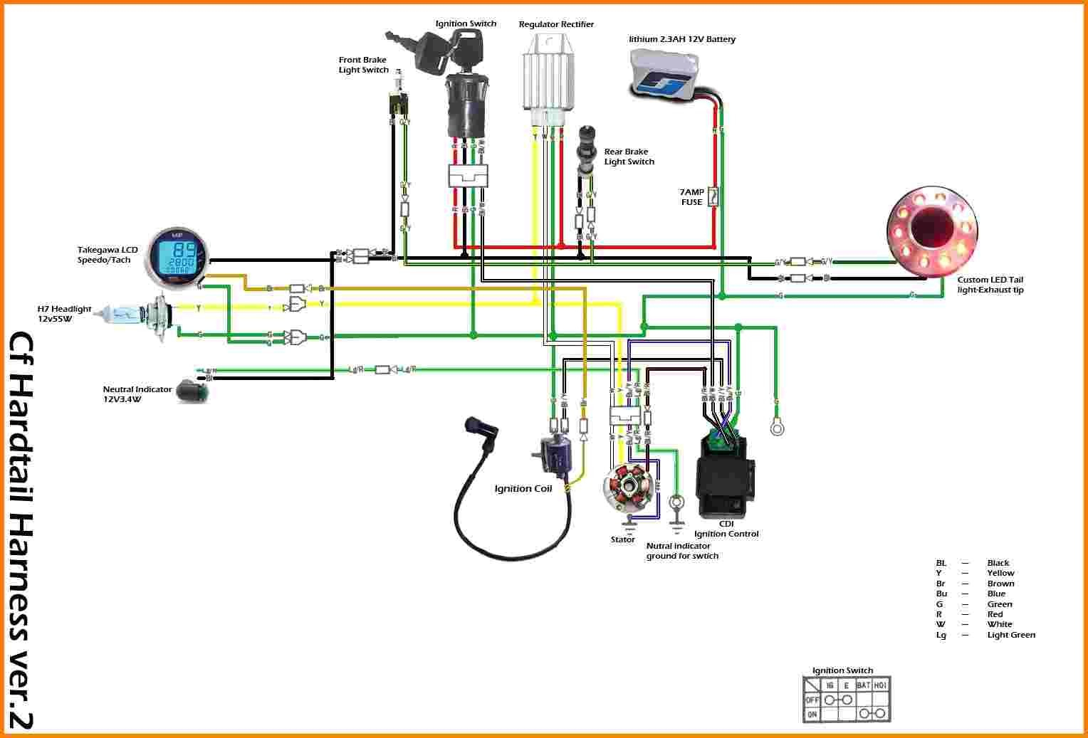 Chinese Four Wheeler Wiring Diagram - Data Wiring Diagram Today - Chinese Atv Wiring Diagram