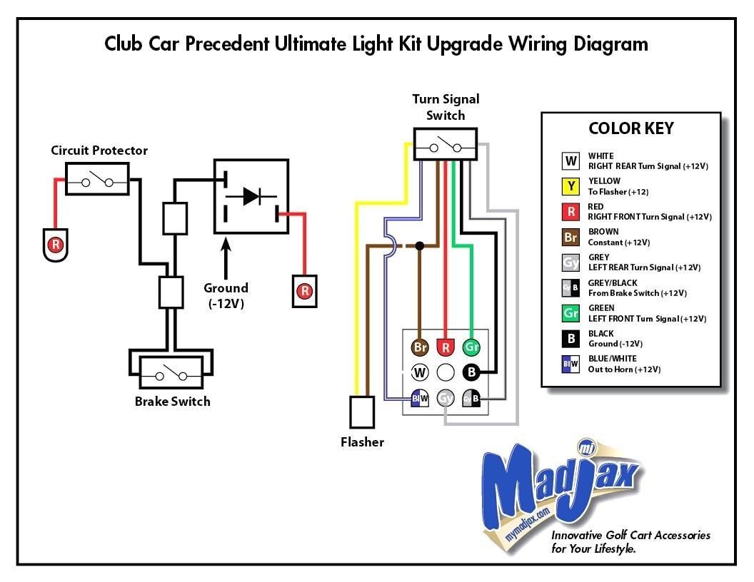 Club Car Brake Light Wiring Diagram | Wiring Diagram - Third Brake Light Wiring Diagram