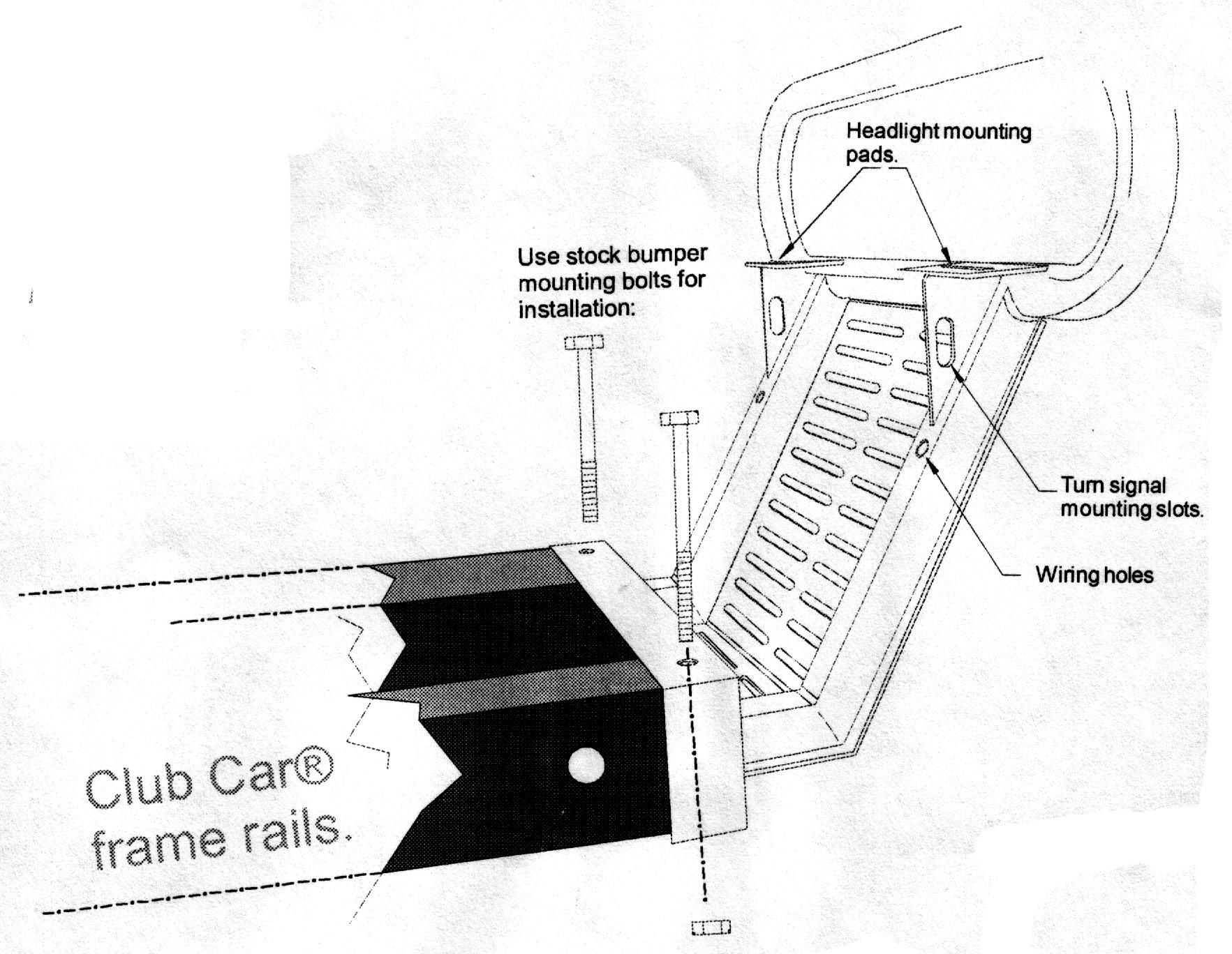 Club Car Precedent Light Kit Wiring Diagram   Wiring Library - Club Car Precedent Light Kit Wiring Diagram