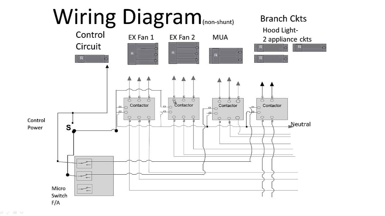 Commercial Kitchen Hood Wiring Diagrams   Wiring Diagram - Kitchen Wiring Diagram
