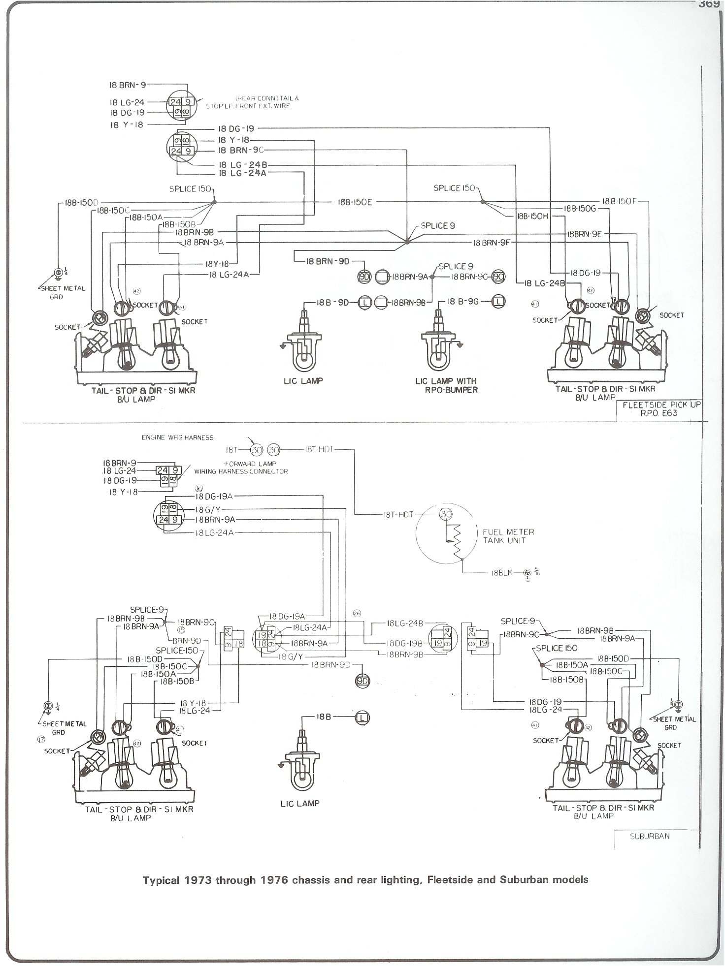 Complete 73-87 Wiring Diagrams - 87 Chevy Truck Wiring Diagram