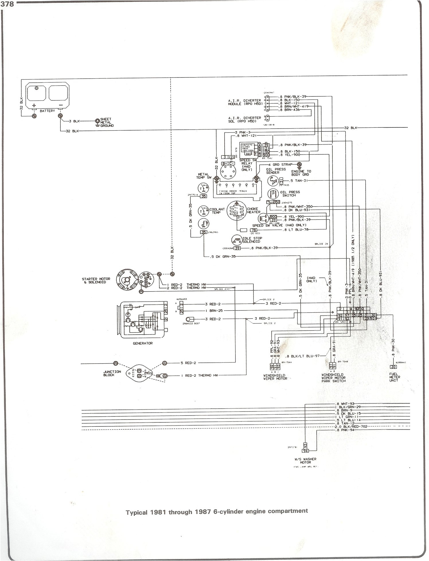 Complete 73-87 Wiring Diagrams - Ignition Wiring Diagram Chevy 350